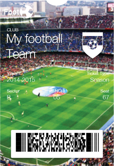 Mobile Season Ticket